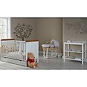 Obaby Winnie the Pooh Cot Bed/Drawer/Changer Room Set
