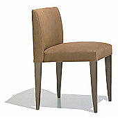 Andreu World Olga Side Chair - Leather Piel-Navy