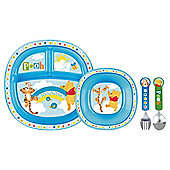 Winnie The Pooh Blue Toddler Dining Set