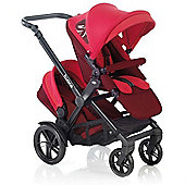 Jane Twone Tandem Pushchair (Crimson)