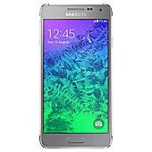 Samsung Galaxy Alpha Silver