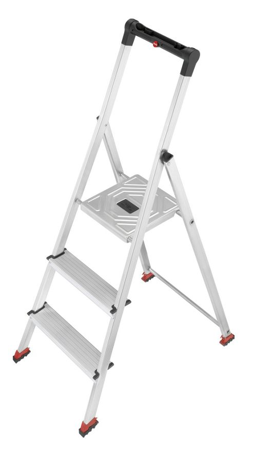 Hailo 237cm ParkettLine L65P Safety Household Ladder