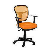 Premier Housewares Office Chair - Orange