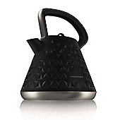 Morphy Richards Prism Pyramid Kettle, 1.5L – Black