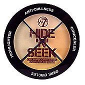 w7 Hide 'N' Seek Colour Correcting Concealer Quad - Natural 5g