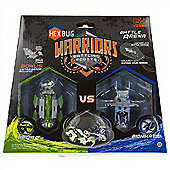 Hexbug Warriors Battling Robots Battle Arena With Hexbugs Viridia And Bionika