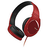 Pioneer overhead headphones SE-MJ721-R Red