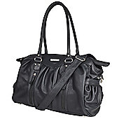 Vanchi Doctor Changing Bag Chicory and Black