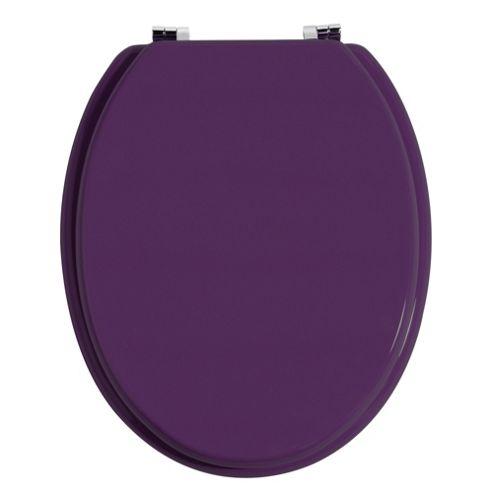 Premier Housewares Toilet Seat in Purple