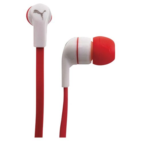 Puma Social Buds Headphones Plus Mic Red PMAD3031RED