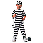 Rubies Fancy Dress - Prisoner Boy Costume UK SMALL 3-4 Years