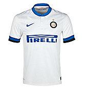 2013-14 Inter Milan Away Nike Football Shirt (Kids) - White