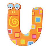Tatiri Crazy Animals Letter U (Orange Frog)