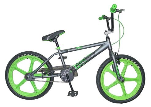 Rooster Armageddon BMX Grey with Green Skyways