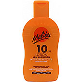 Malibu Sun Lotion SPF10 Low Protection 200ml Lotion