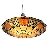 Loxton Lighting Egyptian Terracotta Uplighter in Multi Colours