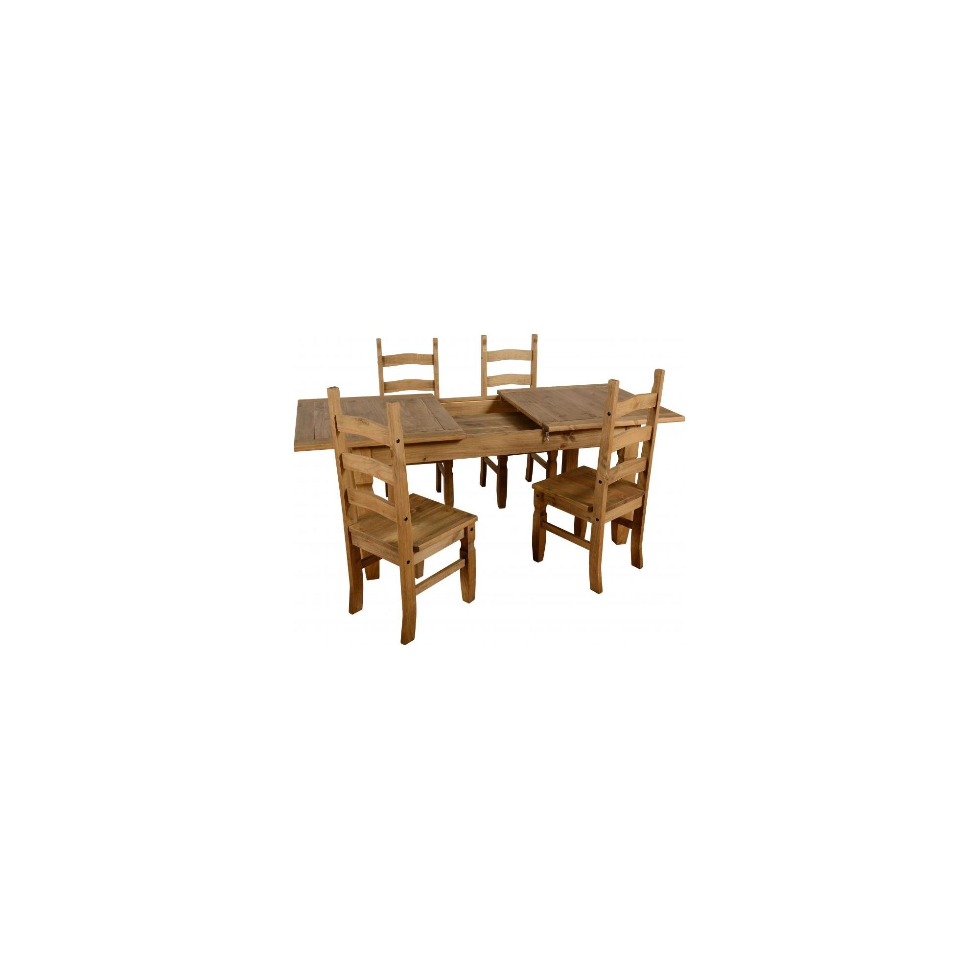 Home Essence Corona 5 Piece Extending Dining Set at Tescos Direct