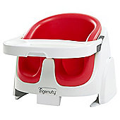 Ingenuity Baby Booster Feeding Seat, Red