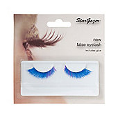 Stargazer False Feather Eyelashes No.50 Blue with Purple Accents