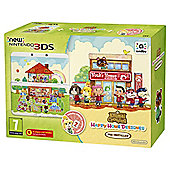 NEW Nintendo 3DS HW Animal Crossing: Happy Home Designer Edition + Coverplate + amiibo card