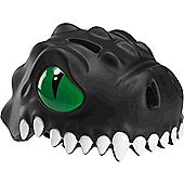 Crazy Stuff Childrens Helmet: Black Dragon L/XL.