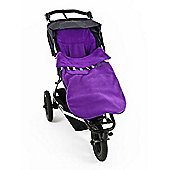 Buggysnuggle - Textured Toggles - Electric Purple - Footmuff