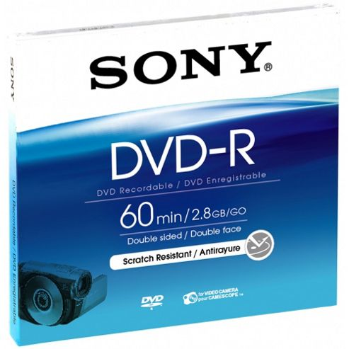 Blister of 8cm Recordable Once DVD-R DMR60A.