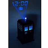 Dr Who Tardis Projection Alarm Clock