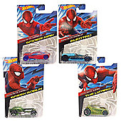Hot Wheels Amazing Spider-Man 2 Diecast Car - Spiderman Cars Set of 4
