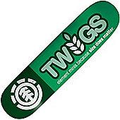 Element Twig Logo #1T Thriftwood Skateboard Deck