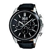Casio Edifice Mens Chronograph Watch - EFB-502BL-1AVER