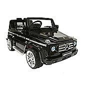 Kids Electric Car Mercedes Benz G55 12 Volt Black Gloss