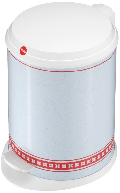 Hailo T1.13 Munich Pedal Bin in White