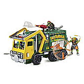 Teenage Mutant Ninja Turtles Movie 2 Truck and Figure Playset