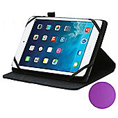 Purple Rotational Stand Case For Apple iPad Mini 1/2/3/4