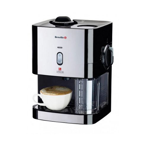 Buy Breville VCF011 Instant Cappuccino Coffee Maker 800ml Milk Tank in Black from our Milk ...