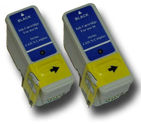 The Ink Squid 2 Chipped Ink Cartridge Compatible for Epson Beach Hut T036 and T037