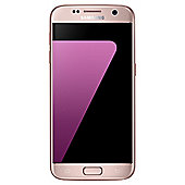 Tesco Mobile Samsung S7 Flat 32GB Pink
