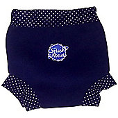 Splash About Happy Nappy Small (Navy & White Dot)