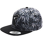 Famous Stars and Straps Herbs Snapback - Black Size: One Size