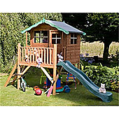 Tower Playhouse and Slide 5ft x 7ft