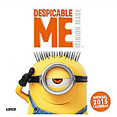 Despicable Me 2015 Square Calendar