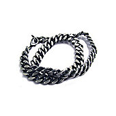 Chunky Dark Grey Curb Chain