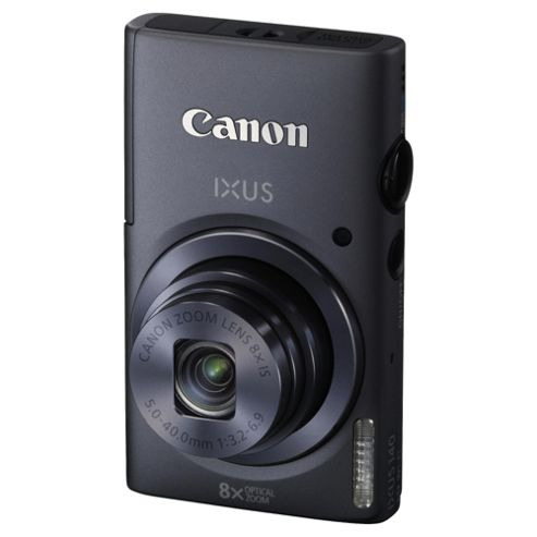 Canon IXUS 140 Digital Camera Grey 16 MP 6x Optical Zoom 3 Inch LCD