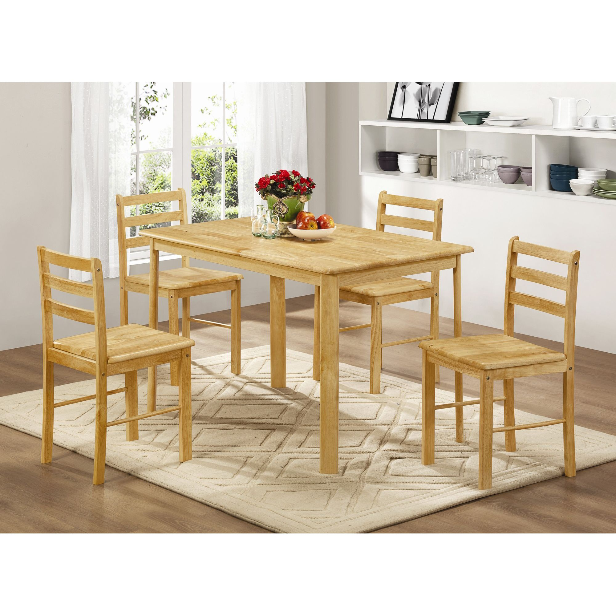 Home Zone Derby 5 Piece Dining Set