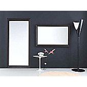 All Home Adalyn Mirror - 130cm W x 75cm H Raised Fram / Glossy Black