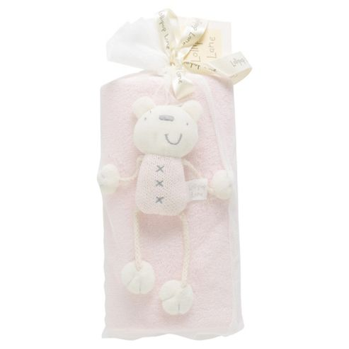 Lollipop Lane Fleece & Teddy, Blossom Pink