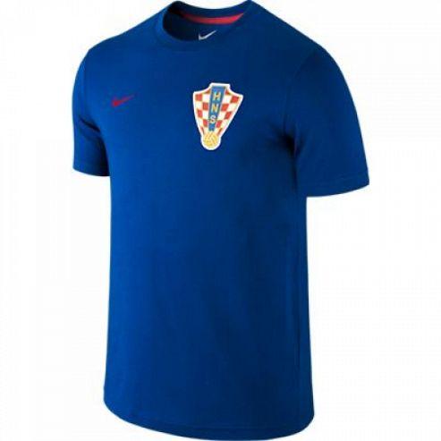 2014-15 Croatia Nike Core T-Shirt (Blue)