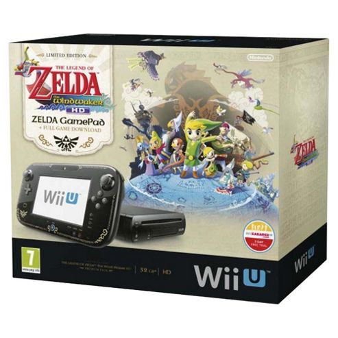 Wii U Premium   Pack The Legend Of Zelda: Wind