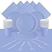 Powder Baby Blue Party Pack For 20